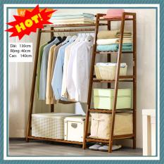 Tủ treo quần áo hình thang 130cm (Bản nâng cấp) M013-13B