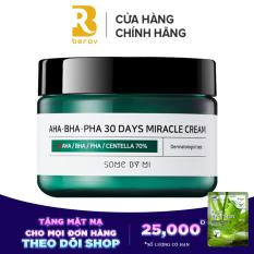 Kem Dưỡng Giảm Mụn Some By Mi AHA-BHA-PHA 30 Days Miracle Cream 50g