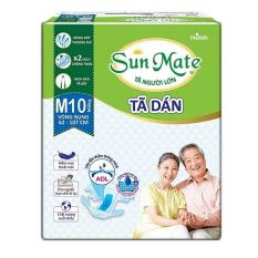 Combo 2 gói tã dán sunmate size M10 – tã dán người lớn Sunmate
