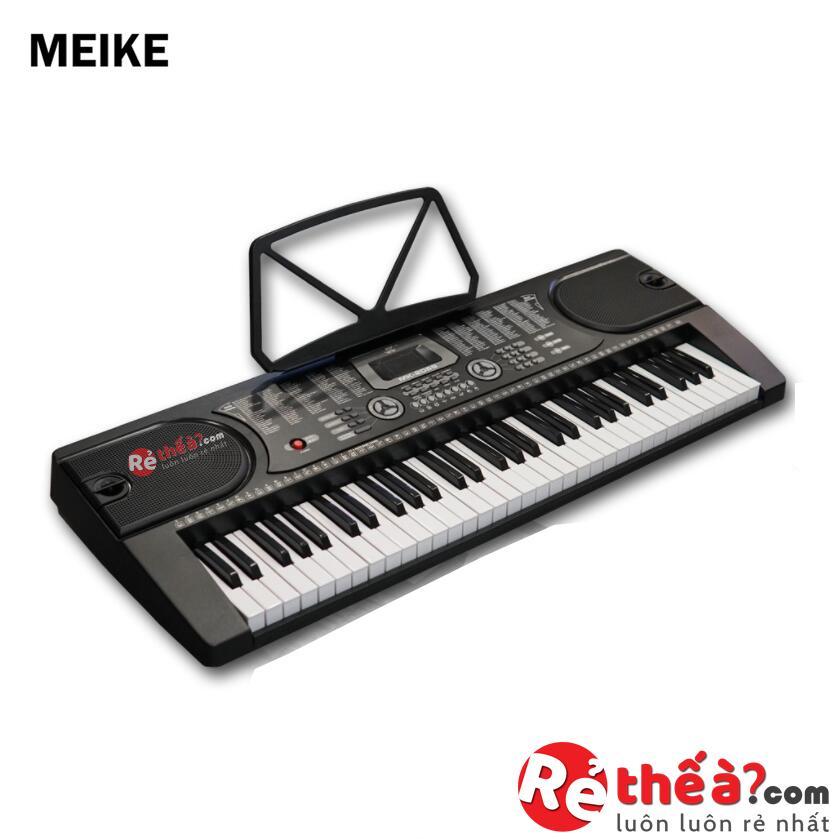 Đàn organ cho người bắt đầu MEIKE MK 2089 - Bản Tiếng Anh xuất Châu Âu - Tặng kèm giá...