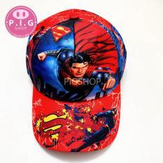 Nón kết SUPERMAN in cho bé trai 2-7 tuổi,mũ lưỡi trai cho bé trai