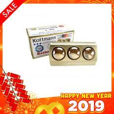 Đèn sưởi nhà tắm Kottmann 3 bóng (K3B – NV) công nghệ Đức