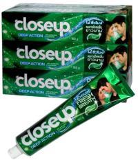 Kem đánh răng Closeup Thái 160g ( 1 lóc 6 cây )