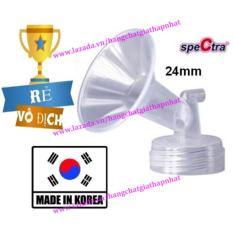 Phễu nhựa cứng cổ rộng size 24mm – Phụ kiện cho các máy hút sữa điện SPECTRA (Made in Korea)