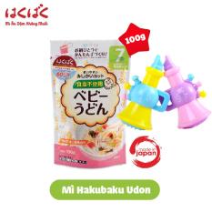 [ Tặng 1 kèn thổi ] Mì ăn dặm Hakubaku baby udon cho bé từ 7 tháng