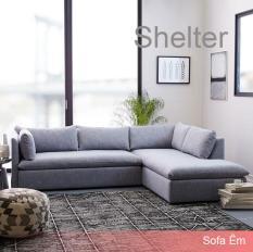 Ghế Sofa Góc L Shelter