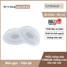 Phễu hứng chống tràn sữa CMBEAR cho các bà mẹ bỉm sữa – Thiết kế rãnh ngược tiện lợi – CMB04