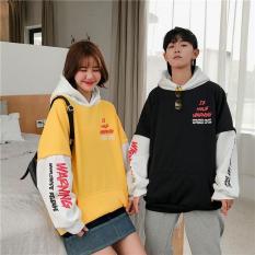 Áo hoodie phối tay giá sale
