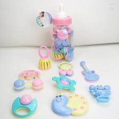 Bộ đồ chơi cho bé 1-2 tuổi trong bình sữa