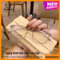 [TẶNG KÈM HỘP] Kính cận gọng dẻo cao cấp Vintage BD905002 – Gọng kính giả cận Hàn Quốc – Bảo hành 12 tháng 1 đổi 1