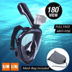 Mặt Nạ Lặn Biển FULL FACE View 180 Kèm Ống Thở,Có SILICON mềm ngăn nước thấm,Gắn được Camera hành trình,Mặt nạ lặn biển ,Kính lặn và ống thở,Đủ Size cho mọi lứa tuổi,Bảo hành uy tín 1 đổi 1