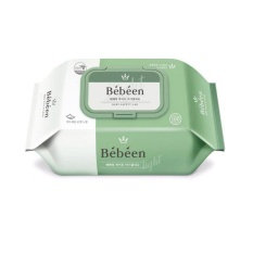 Combo 3 gói khăn ướt Bebeen Hàn Quốc 100 tờ không mùi xanh