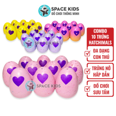 Đồ chơi trẻ em Combo 10 quả Trứng Hatchimals các mùa nhiều màu cho bé, hàng made in Việt Nam
