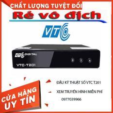 [TRỢ GIÁ] Đầu thu Kỹ thuật số đầu thu truyền hình mặt đất VTC-DVB -T201. Xem truyền hình và Youtobe