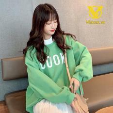 Áo nỉ Hoodie nữ Hàn Quốc dài tay Cook