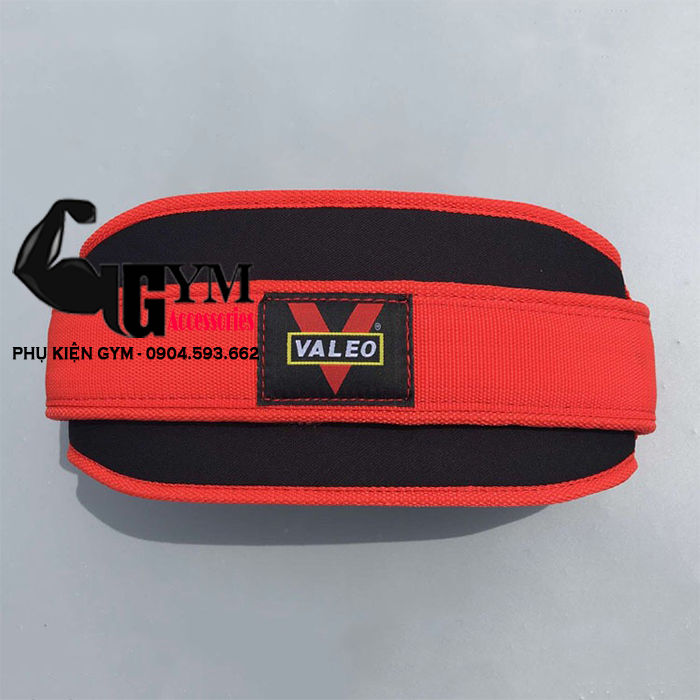 Đai Lưng Đai Mềm Tập Gym Bản To Valeo Squat Belt, hỗ trợ Squat