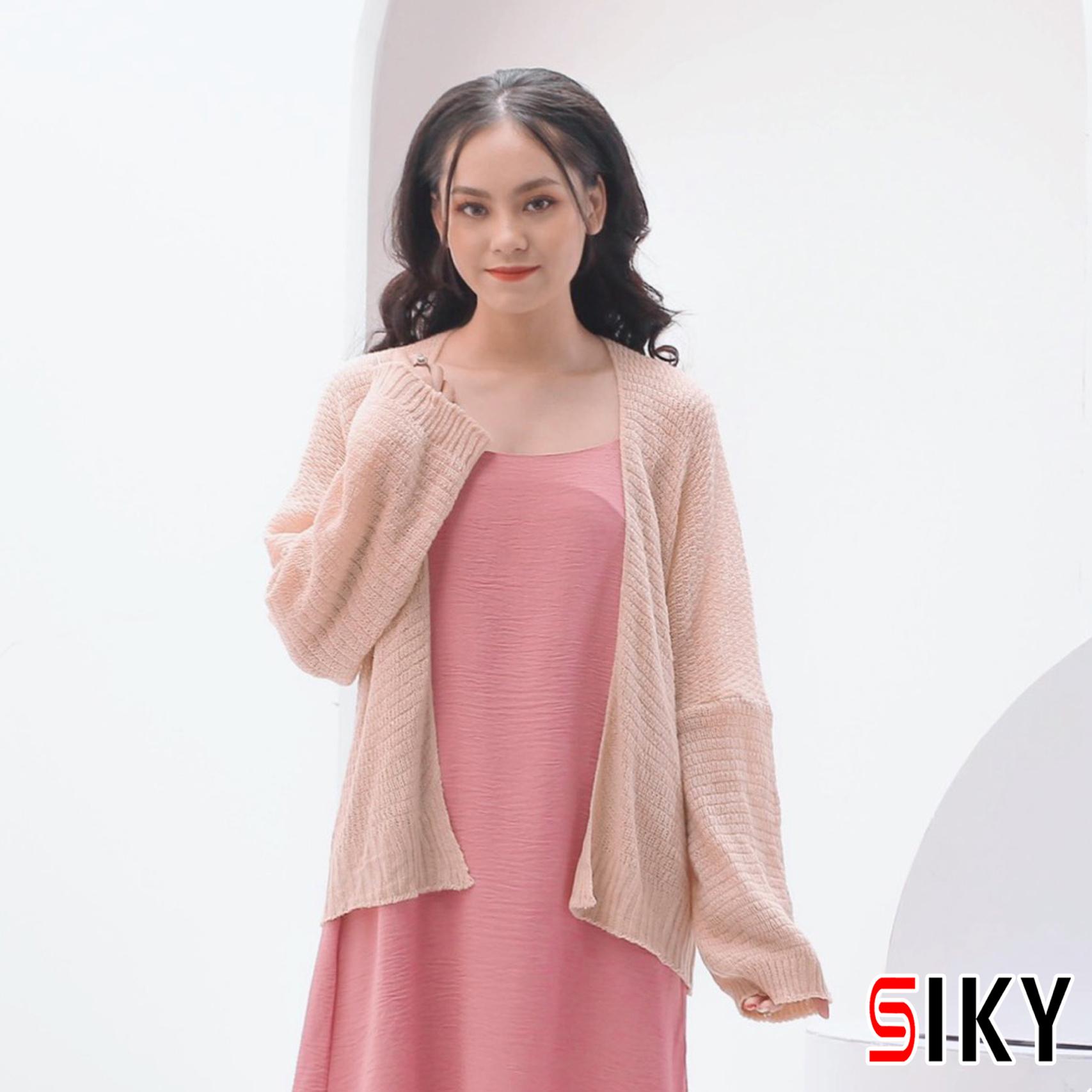 Áo Cardigan Len - Áo khoác len mỏng phong cách Hàn Quốc