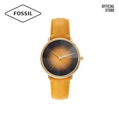 Đồng hồ Nữ FOSSIL dây da Prismatic Galaxy ES4728 – màu vàng