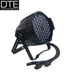 DTE Par LED 54x3W 3in1 RGB