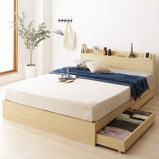 Giường ngủ gỗ công nghiệp cao cấp Ohaha-055