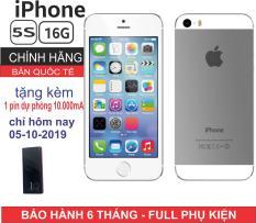 Điện thoại Apple iPhone 5s – 16GB – Bản quốc tế – Full phụ kiện – Bảo hành 6 tháng – Đổi trả miễn phí tại nhà – Yên tâm mua sắm với Mr Cầu ( Điện Thoại Giá Rẻ, Điện Thoại Smartphone, Điện Thoại Thông Minh)