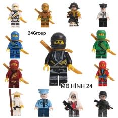 Mô Hình đồ chơi Lắp Ráp Lego anime Nhân Vật Hoạt Hình ninja go cảnh sát police pubg MOC nonlego NINJAGO NON LEGO pupg bubg bupg