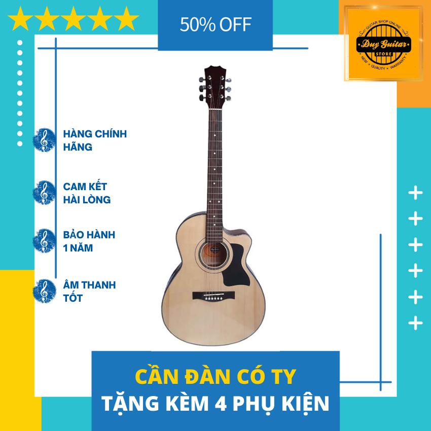 Đàn guitar acoustic giá rẻ dành cho sinh viên và người mới tập đệm hát Âm thanh vang sáng Cần...