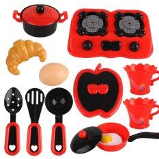 B&C – Đồ Chơi Bé Học Nấu Ăn – 12 Chi Tiết 7580 – Đồ Chơi Bé Cosplay Đầu Bếp
