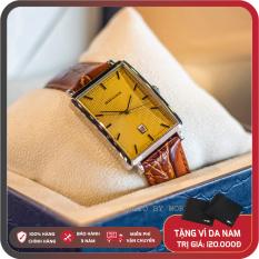 Đồng Hồ Nam Romanson DL5163NMWGD Full Box Sổ Bảo Hành 3 Năm Chống Xước Chống Nước Dây Da Cao Cấp