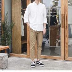 quần kaki nam kiểu dáng baggy cực hot