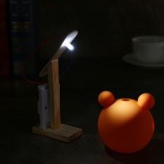 [Hàng chất lượng] – Đồ chơi phát triển trí tuệ trẻ em – Đèn để bàn có thể phát sáng – Kèm pin