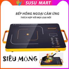 Bếp Điện – Bếp Hồng Ngoại Cảm Ứng Mặt Kính Cường Lực RAYPOR Siêu mỏng (Không kén nồi) SuSu Mart