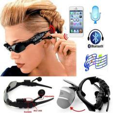 Mắt Kính Bluetooth Mp3 – Dành Cho Dân Phượt, Mắt Kính Bluetooth 4.1 Thông Minh – mk4.1 , Nghe Nhạc, Chống Bụi, Bảo Vệ Mắt Khỏi Tia Uv – Bh 1 Đổi 1 Bởi Bình An-Shop