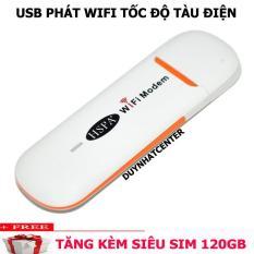 Phát wifi từ sim cực mạnh- DCOM 3G 4G DONGLE tốc độ cực cao,tặng quà cực chất