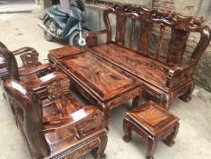 Bàn ghế gỗ Chàm Tay 10