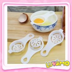Dụng Cụ Tách Lòng Đỏ Trứng Làm Bánh Nấu Đồ Ăn Dặm Nhỏ Gọn Cao Cấp Luvamo Ad18