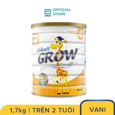 Sữa bột Abbott Grow 4 G-Power Hương Vani 1.7kg