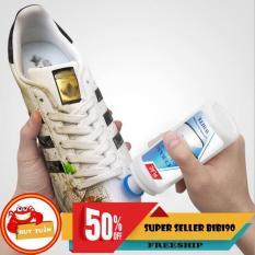 [Dang Lan Fashion ] Chai xịt tẩy trắng giày dép túi xách đa năng -đẹp như mới ( có đầu bàn chải )===