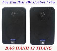 Loa JBL Control 1 Pro 80W, Loa JBL Control Dùng Nghe Nhạc, Hát Karaoke, Loa Kệ Sách