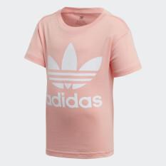 adidas ORIGINALS Áo Phông Trefoil Unisex trẻ em Màu hồng FM5625