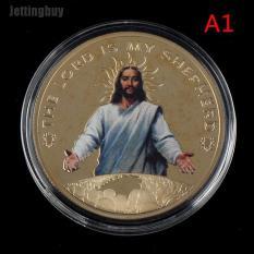 Jettingbuy Bộ Sưu Tập Đồng Xu Kỷ Niệm Tôn Giáo Jesus Christ Quà Lưu Niệm Kim Loại Nghệ Thuật