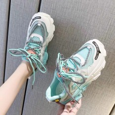 giày thể thao nữ sneaker nữ lưới đế 3 màu