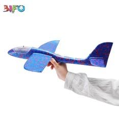 Đồ chơi máy bay xốp tự lắp ráp có đèn chiếu sáng toàn thân