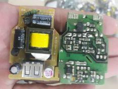 Combo 10 nguồn không vỏ 5v 1,5A max có cổng đầu ra USB