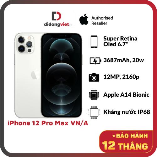 Điện thoại Apple iPhone 12 Pro Max VN/A – Hàng Chính Hãng