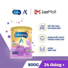 [FREESHIP] [Dễ tiêu hóa và hấp thụ] Sữa bột Enfagrow A+ Gentle Care 4 800g – Dành cho trẻ trên 24 tháng
