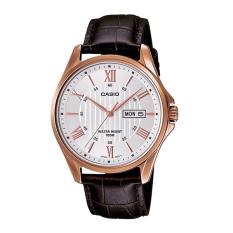 Đồng hồ nam dây da máy quartz 3 kim Casio MTP-1384L-7AVDF – Bảo hành 12 tháng