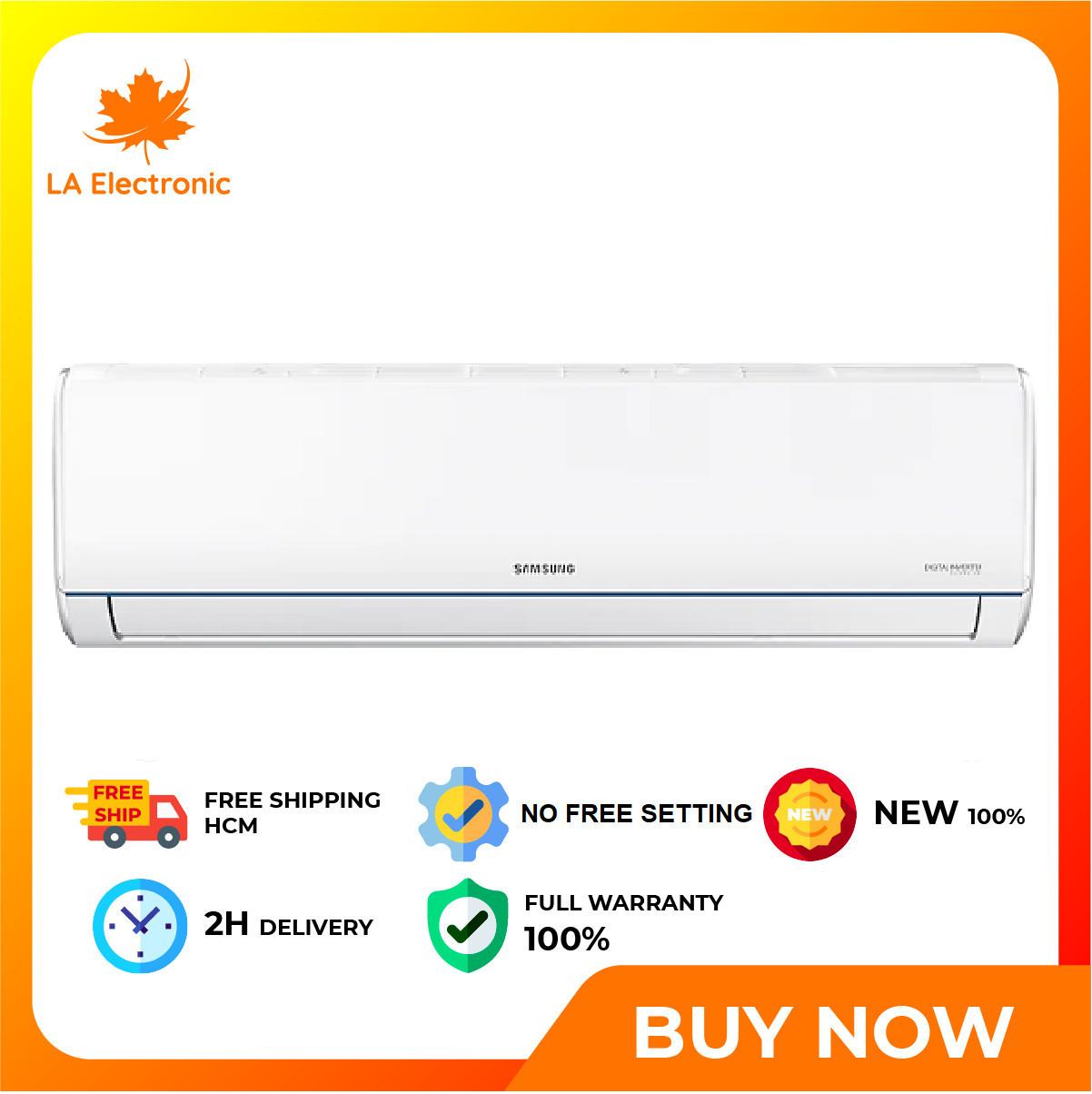 [GIAO HÀNG 2 – 15 NGÀY, TRỄ NHẤT 15.08] Trả Góp 0% – Máy lạnh Samsung Inverter 1 HP AR09TYHQASINSV – Miễn phí vận chuyển HCM