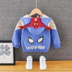 ❤️FreeShip❤️ Áo gió cho bé trai và bé gái người nhện 7 đến 25 kg