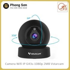 Camera wifi ip trong nhà Không dây G43s 1080p 2MB Vstarcam